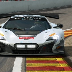 RaceRoom LeaderBoard + Setup | McLaren 650s GT3 @ Spa 2:16:666