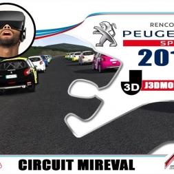 CHAMPIONNAT 208 RC 2018 : CIRCUIT MIREVAL [VR OCULUS RIFT]