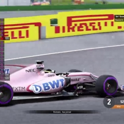 F1 2017: RaceDepartment PS4 F1 Championship - Round 12: Belgium