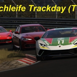 Trackday in Winter - Lamborghini Huracán Performante @Nordschleife (TV Cam) - Assetto Corsa (1.16.2)