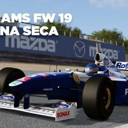 Williams FW 19 / Laguna Seca / Assetto Corsa / Cockpit + Replay