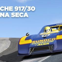 Porsche 917/30 / Laguna Seca / Assetto Corsa / Cockpit + Replay