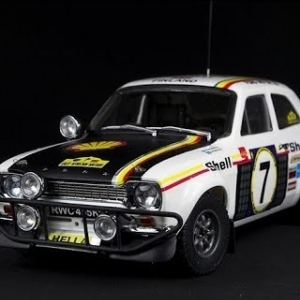 Assetto Mods: Ford Escort RS1600 at Alpine Rally Stage!
