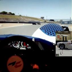 AC - Laguna Seca - AC Legends Chaparral 2E - 98% AI race