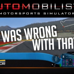 What was wrong with that lap? - Automobilista v1.5