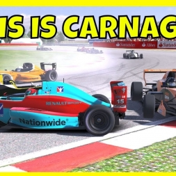 This is Carnage!! - iRacing Formula Renault 2.0 at Silverstone
