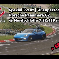 Assetto Corsa | Special Event Unexpected Truths | Porsche Panamera G2 @ Nordschleife 7:52:459 min