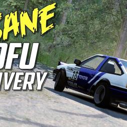 INSANE Tofu Delivery - AE86 Rally at Semetin - Assetto Corsa - OCULUS RIFT VR