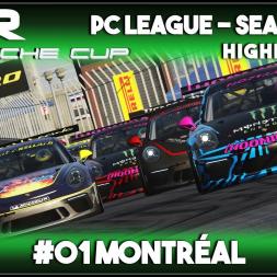 Assetto Corsa   AOR Porsche Cup: Race 1 & 2 - Montreal (Highlights)