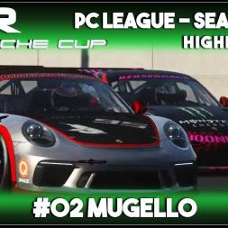 Assetto Corsa | AOR Porsche Cup: Race 3 & 4 - Mugello (Highlights)