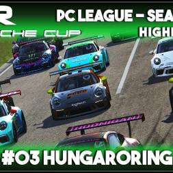 Assetto Corsa   AOR Porsche Cup: Race 5 & 6 - Hungaroring (Highlights)