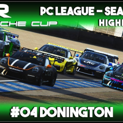 Assetto Corsa | AOR Porsche Cup: Race 7 & 8 - Donington (Highlights)