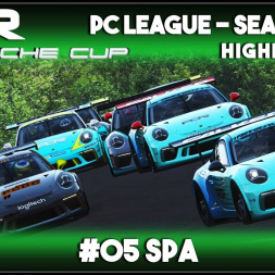 Assetto Corsa | AOR Porsche Cup: Race 9 & 10 - Spa (Highlights)