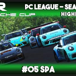 Assetto Corsa | AOR Porsche Cup: Race 9 & 10 - Spa (Highlights)