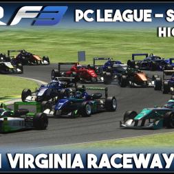 Assetto Corsa | AOR F3 PC League: Round 1 - Virginia Raceway (Highlights)