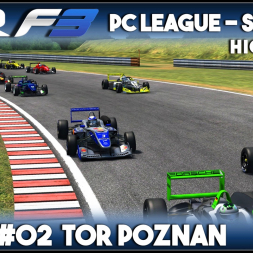 Assetto Corsa | AOR F3 PC League: Round 2 - Tor Poznan (Highlights)