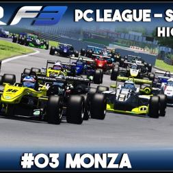 Assetto Corsa | AOR F3 PC League: Round 3 - Monza (Highlights)