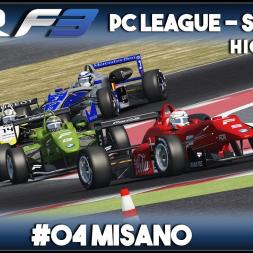 Assetto Corsa | AOR F3 PC League: Round 4 - Misano (Highlights)