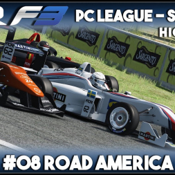 Assetto Corsa | AOR F3 PC League: Round 8 - Road America (Highlights)