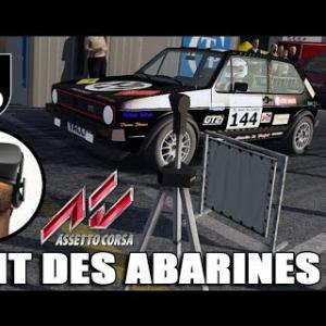 Course de côte du Pont des Abarines - Golf GTI 16V [Oculus Rift VR]