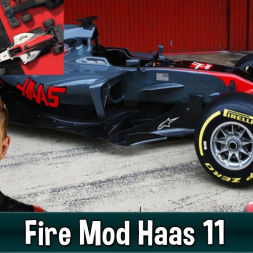 Motorsport Manager Fire Mod - Haas F1 The American Dream 11