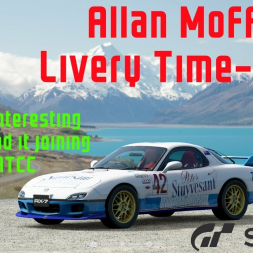 Gran Turismo Sport - A look at the History of the Allan Moffat RX7 (Livery Time-lapse)