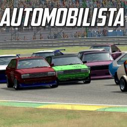 MY FIRST AUTOMOBILISTA RACE - Brazilian touring cars