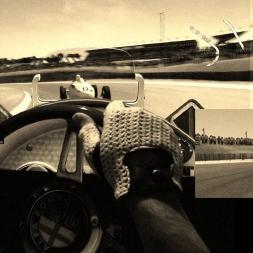 AMS - Kyalami (Johannesburgh) - Alfa Romeo 37C - AI race - vintage