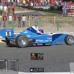 iRacing Pro Mazda at Spa - Fun race,  Sad end