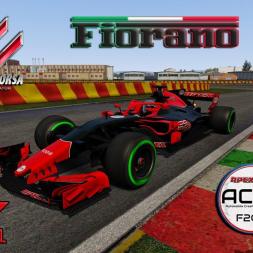 Assetto Corsa * Formula 1 2018 * Fiorano Ferrari Teststrecke [beta download]