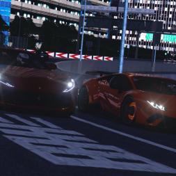 18 Lamborghini Huracan Vs 17 Ferrari 812 Superfast High Speed Chase - ACS