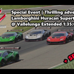 Assetto Corsa | Special Event Thrilling adventure | Lamborghini Huracan ST @ Vallelunga 1:35:076 min