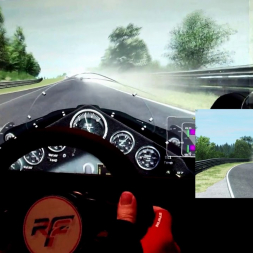 rF2 - Nordschleife - F1 EVE - 100% AI race