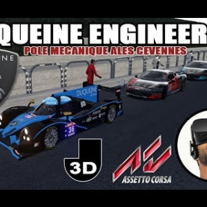 DUQUEINE ENGINEERING en virtuel, comme en vrai ! [VR OCULUS RIFT]