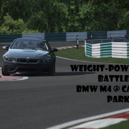 Assetto Corsa | Weight-Power Battle at Cadwell Park #1: BMW M4