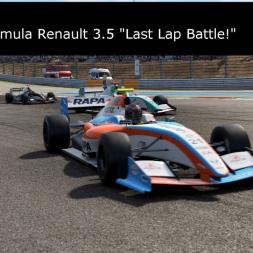 """PC2 -  Formula Renault 3.5 Championship - Round 1 - """"Last Lap Battle!"""""""