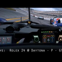 Driver Eye:  Rolex 24 @ Daytona - P - GTLM - GTD - VR Gameplay