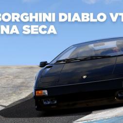 Lamborghini Diablo VT / Laguna Seca / Assetto Corsa / Cockpit + Replay