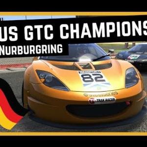 Lotus Evora GTC Championship - Rounds 3 + 4 @ Nurburgring | Assetto Corsa