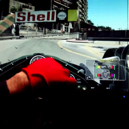 rF2 - Monte Carlo 1966 - F1 EVE - 100% AI race