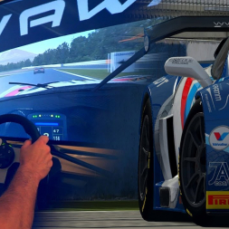 BALLS to the WALL in the Callaway C7 GT3-R - Beating my PB for three consecutive laps