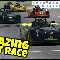 Amazing First Race - iRacing Spec Racer Ford Challenge - Daytona Short - VR