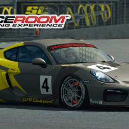 Raceroom - Porsche Cayman GT4 Clubsport at Norisring (PT-BR)