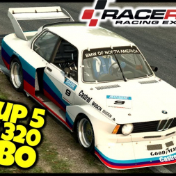 Group 5 BMW 320 Turbo - Ring Knutstorp - Raceroom Racing Experience - VR