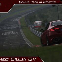 Alfa Romeo Giulia QV Review (Bonus Pack 3) | Assetto Corsa | #153