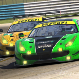 iRacing: IMSA at Sebring: Ferrari 488 GTE