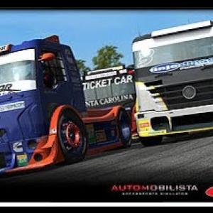 Autombilista Formula Trucks (Imola Race) - Pov Gopro - T300 - 3 monitors