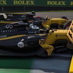 F1 2017 Career Round 19: Brazil - PENALTIES & PHOTO FINISH!!
