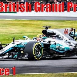 2017 British Grand Prix - Practice 1 Highlights (All Cars)