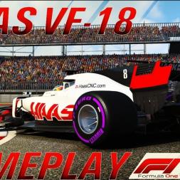 F1 2018 Haas VF-18 Gameplay Season Mod